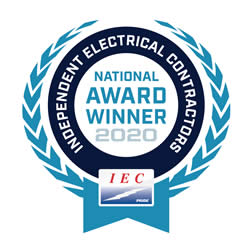 National Award Winning Electrical Contractor - Wagner Electric l- 2020